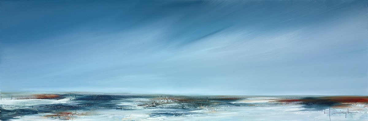 Berlevog by lynne timmington -  sized 47x16 inches. Available from Whitewall Galleries